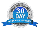 30 day money back guaranteed