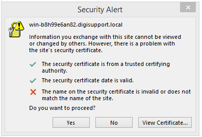 Replace Internal Name Certificates - Part II | DigiCert Blog