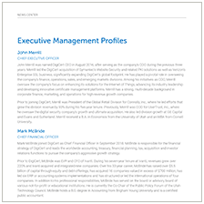 Executive Profiles